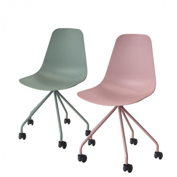 lana castor chair<br>(라나 캐스터 체어)