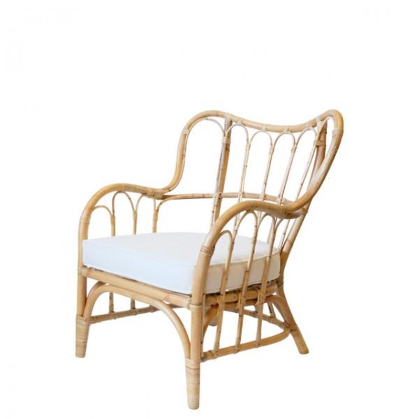 curtis rattan lounge chair<br>(커티스 라탄 라운지 체어)