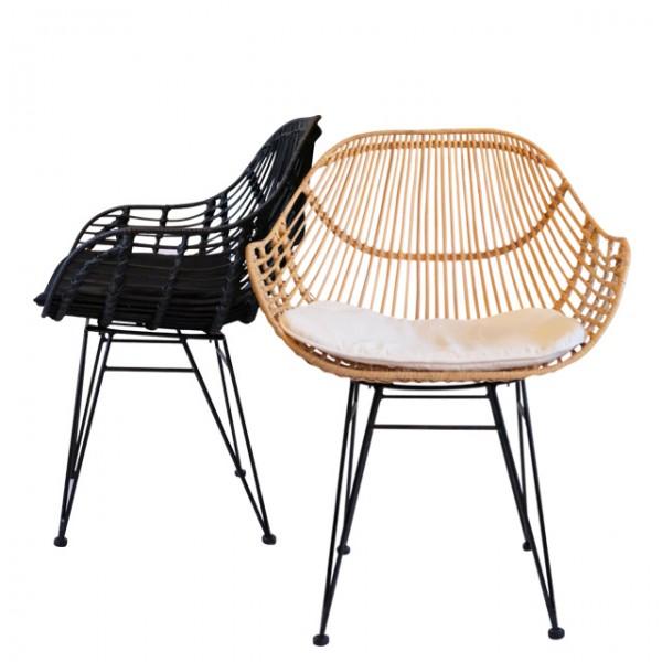 sabah rattan arm chair<br>(사바 라탄 암체어)