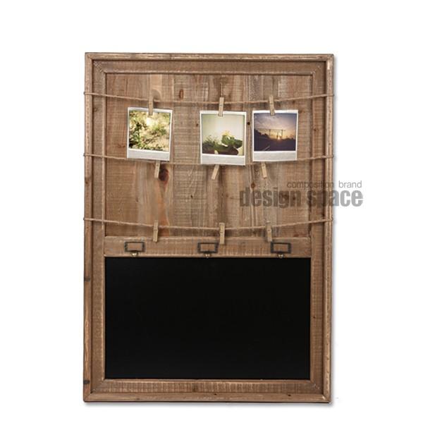 wooden photo board<br>(우든 포토 보드)
