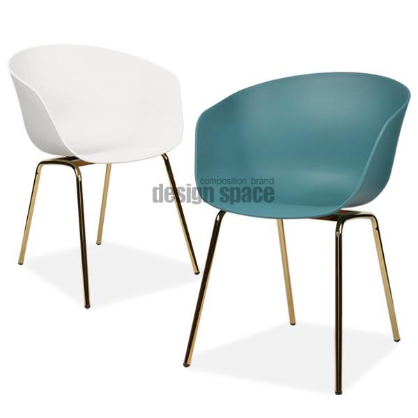 amiah gold chair<br>(아미아 골드 체어)