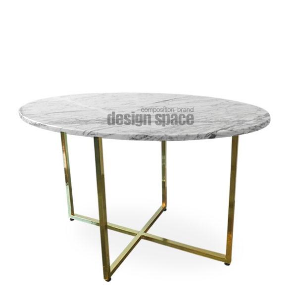 stone oval sofa table<br>(스톤 오벌 소파 테이블)