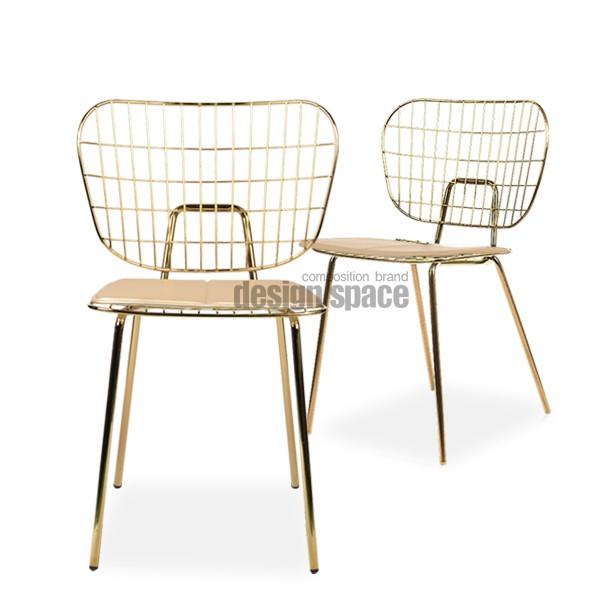 martha gold chair<br>(마샤 골드 체어)