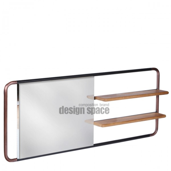 cantone mirror with shelves<br>(캔톤 미러 위드 셀브스)