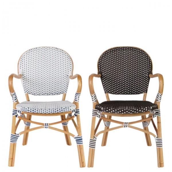 patio rattan arm chair<br>(파티오 라탄 암체어)