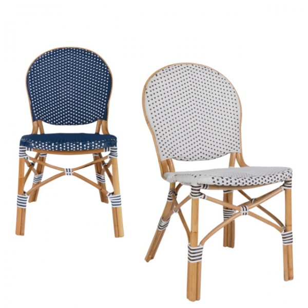 patio rattan side chair<br>(파티오 라탄 사이드체어)